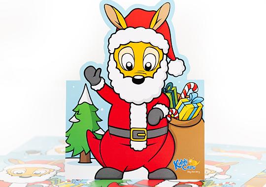 Kiddi Caru Christmas Card